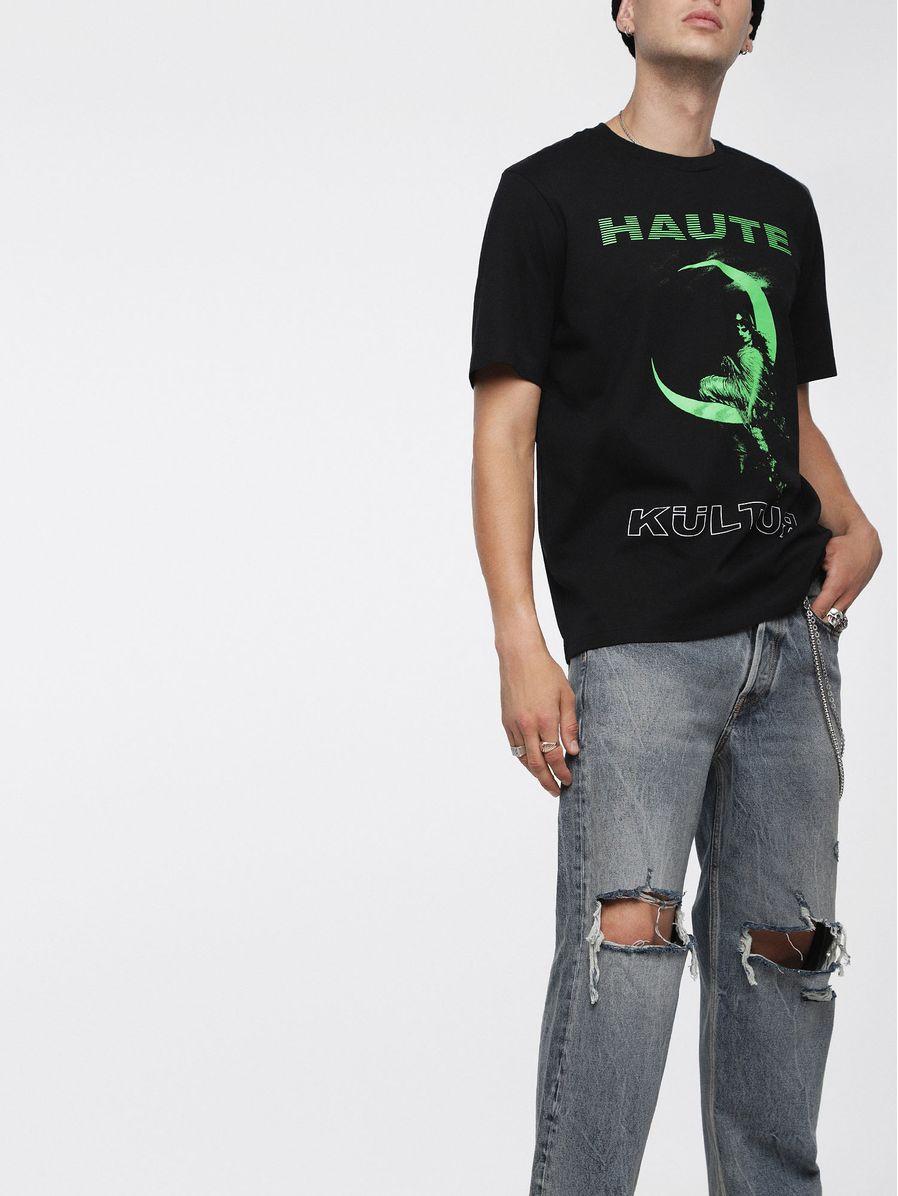 Camisetas-T-JUST-XS-Hombre-Negro